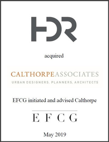 FDR. Calthorpe Associates, EFCG