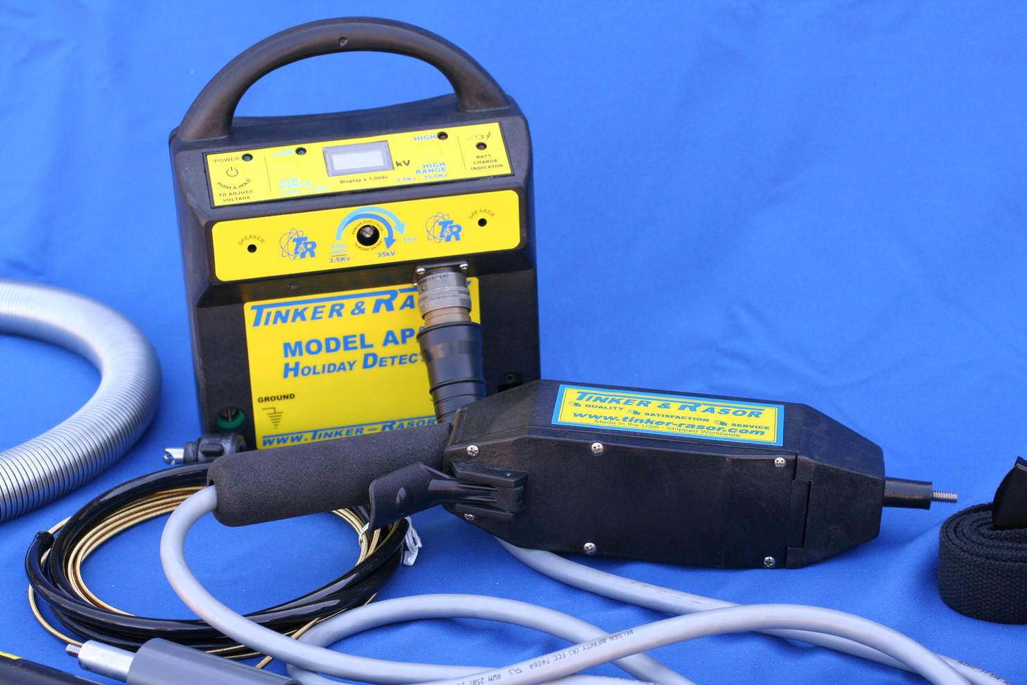 "Model: APS High Voltage Holiday Detector ""Stick Type"""