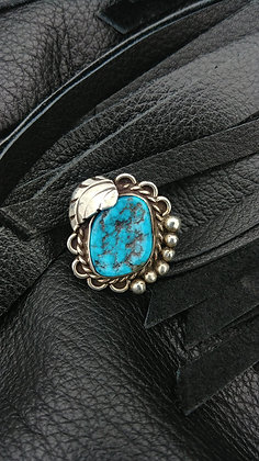 Vintage Turquoise Ring Size 5 1/4