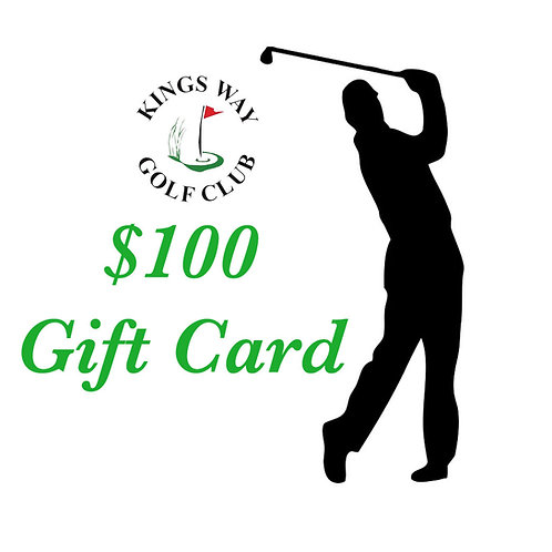 Golf Gift Card