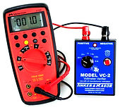 VC-2 verifier connected to red voltmeter