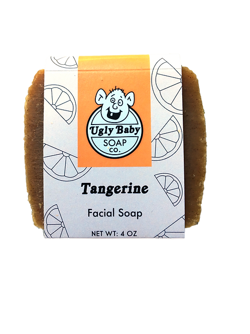 Tangerine Facial Soap, Ugly Baby Soap Co.