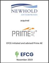 Newhold Enterprises, Prime AE, EFCG