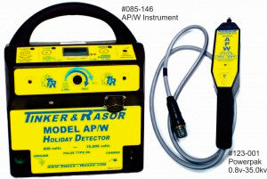 AP/W Holiday Detector High Voltage, Tinker Rasor