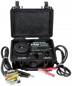 PRM Peak Reading Voltmeter Holiday Detector