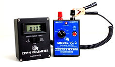 VC-2 connected to CP-4 voltmeter