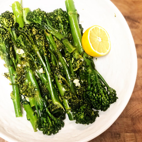 Lemon Garlic Broccolini