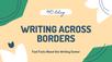 Writing Across Borders