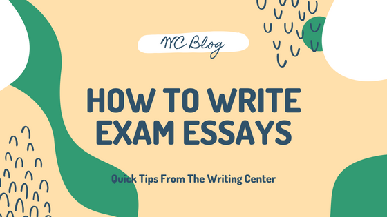 How To Write Exam Essays