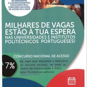 """O FUTURO É AGORA                            ESTUDAR@PORTUGAL é MAIS FÁCIL:  mot de passe """"ACESSO"""""""