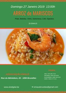 Le risotto aux fruits de mer est une spécialité portugaise