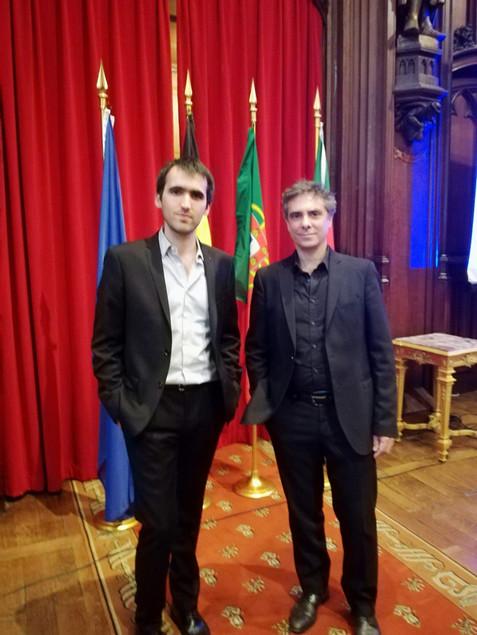 Les Pianistes João Costa Ferreira et Bruno Belthoise