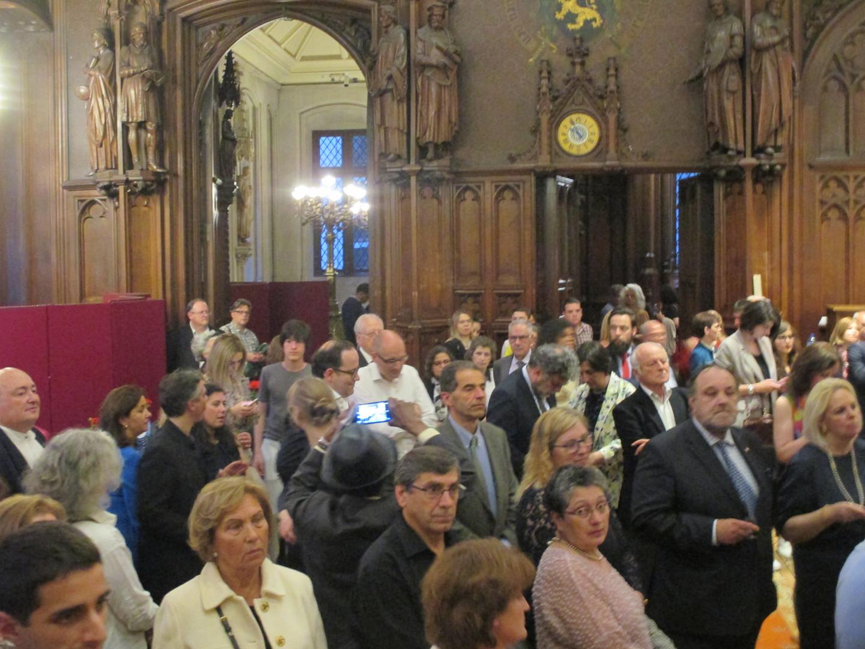 Parmi le public, et venus du Portugal, le ministre portugais de l'enseignment supérieur et les réctrices des universités et instituts politechniques portugais