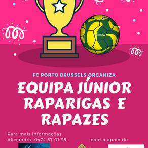 EQUIPA MISTA RAPARIGAS/RAPAZES : EDUCAR PARA A IGUALDADE NO FCP PORTO BRUSSELS