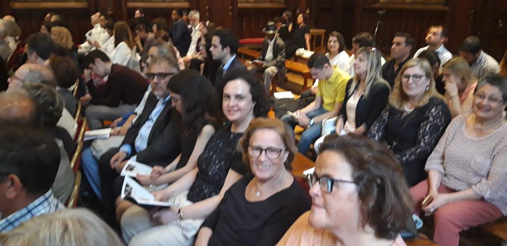 """un aspect du public présent le 14 juin 2019 au concert """"Pastéis de nata, camembert et quelques frites"""""""
