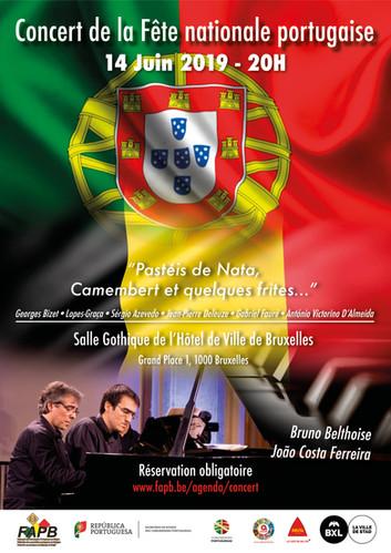 Le Concert de la Fête nationale portugaise 2019 en Belgique