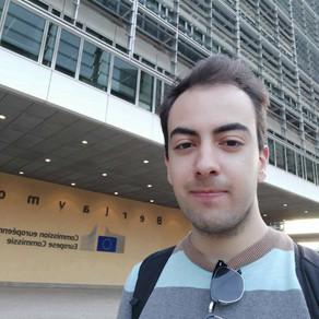 Podcast Dia da Europa 2021 com Miguel Cisneiros, estudante Erasmus na Bélgica