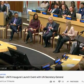 António Guterres (Nações Unidas) pergunta a 6 Jovens 3 coisas a fazer para termos um Mundo Melhor
