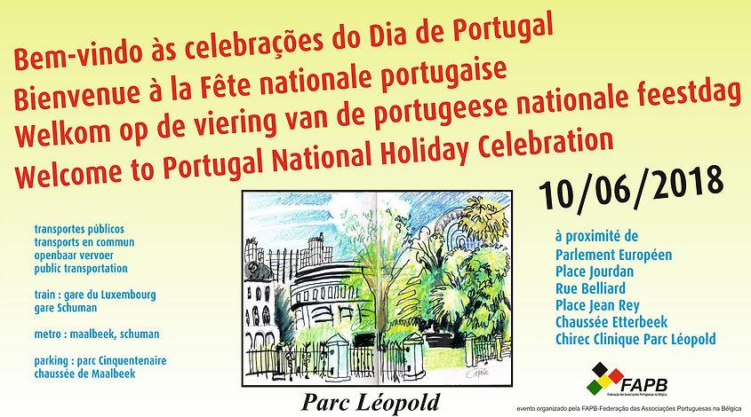 Fête du 10 juin, Parc Léopold
