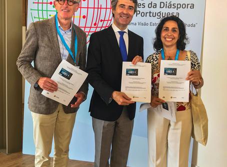 Presença das Associações da Bélgica, FAPB, no 1º Congresso Mundial das Redes da Diáspora Portuguesa