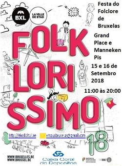 Cartaz Folklorissimo 2018