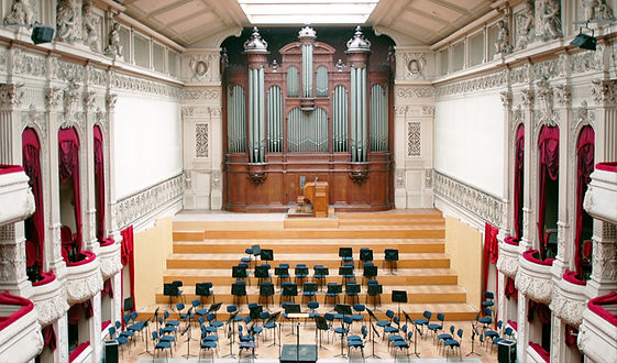 La grande salle - Conservatoire royal de Bruxelles