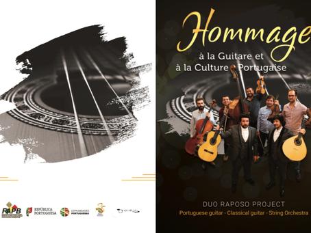 Jovens lusodescendentes Duo Raposo Project em concerto em Bruxelas