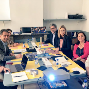 """15/06/19 Ministro Manuel Heitor reúne Grupo Diretor """"Belvédère Bruxelas"""" para a Iniciativa"""