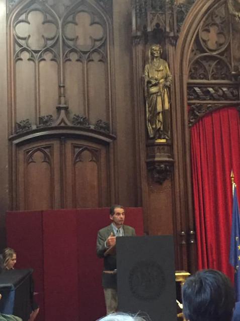 Manuel Heitor s'adresse à la communauté portugaise de Belgique