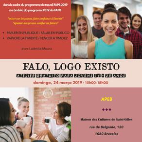 """atelier  """"Je parle, donc je suis"""" / """"Falo, logo existo"""""""