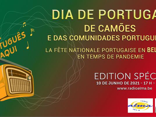 Podcast Dia Portugal 2021                              com S.E. Embaixador Rui Tereno