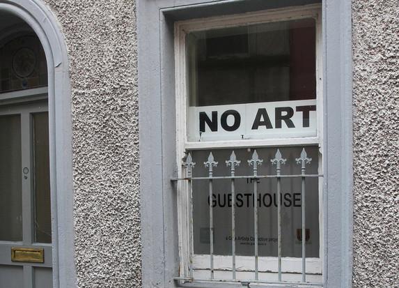 NO ART / ART ON