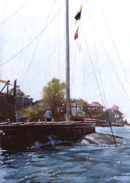 Peter Scott, Signalman, Royal Yacht Squadron.