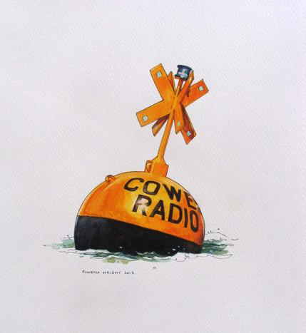 Cowes Radio racing mark