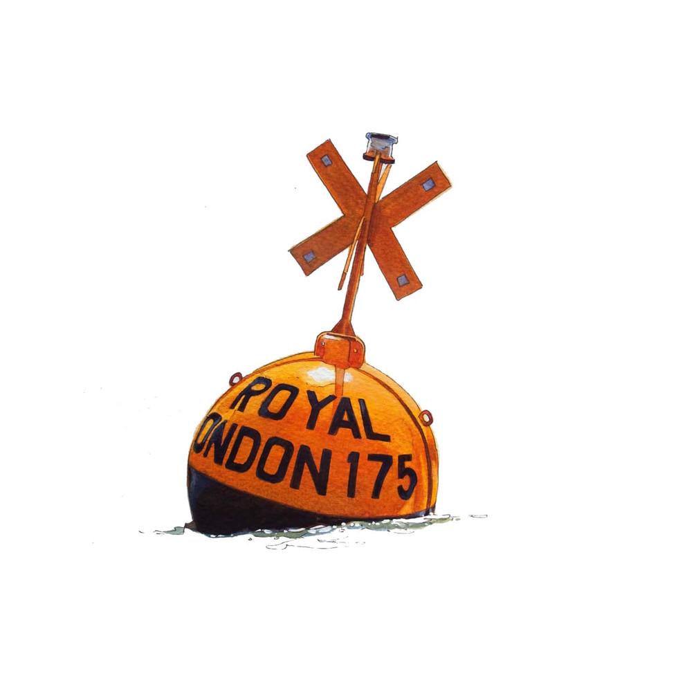 Royal Rondon racing mark