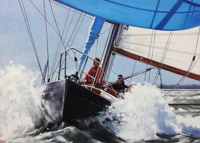 Racing in the Solent