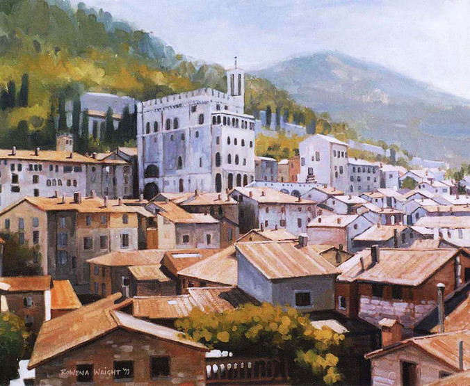 Mediterranean rooftops