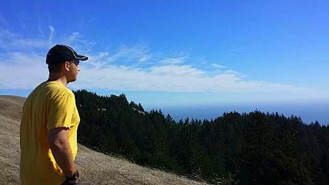 Mt. Tam with Son