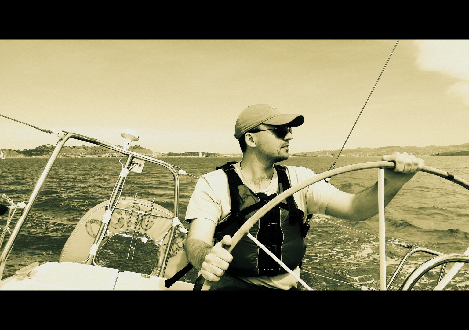 Sailing with Son