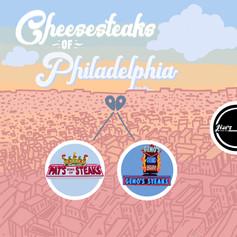 Cheesesteaks of Philadelphia Map