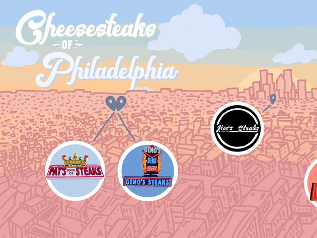 Cheesesteaks of Philadelphia