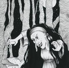 Babayaga Children's Book Illustration
