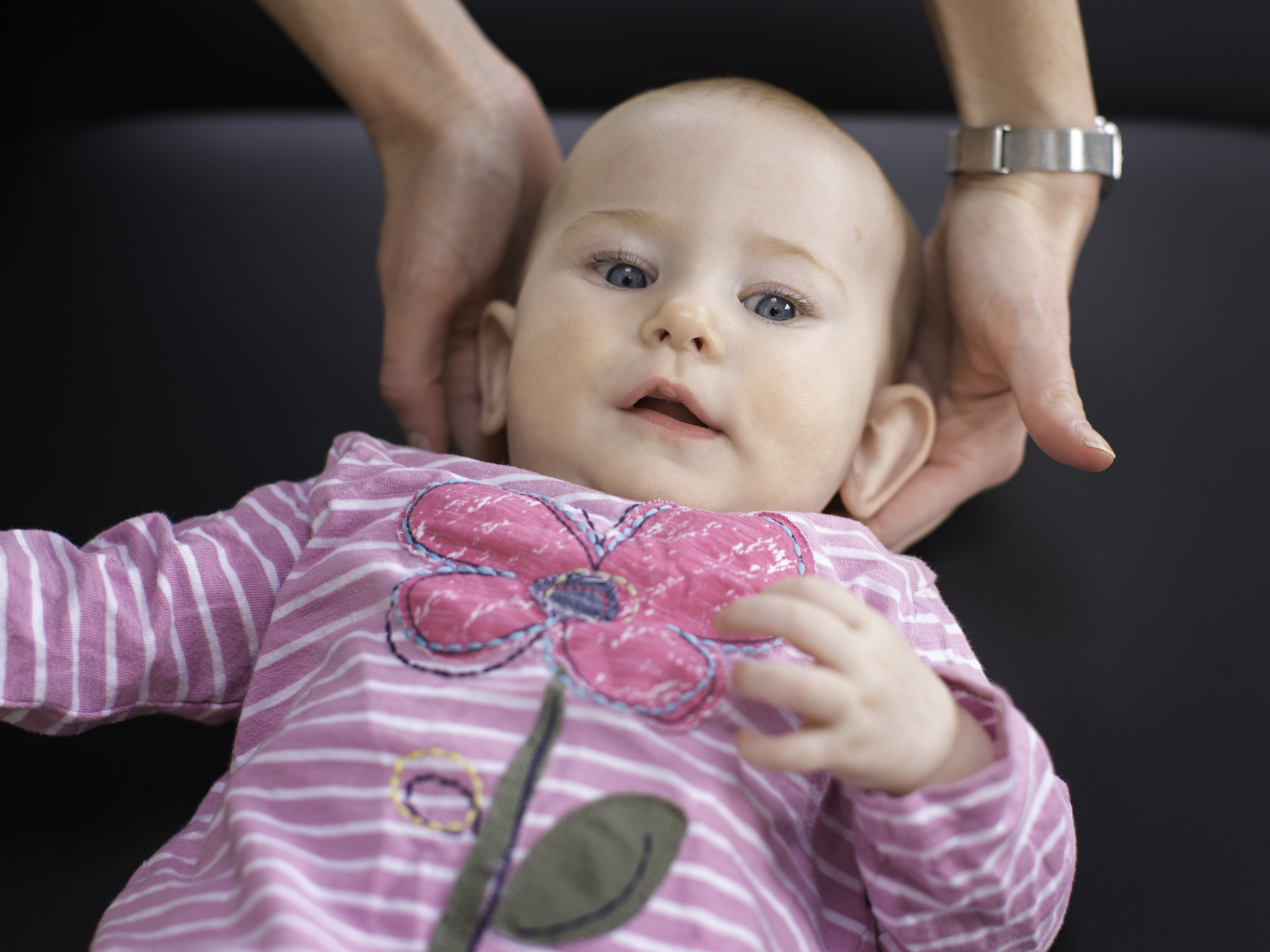 Chiropractor paediatric baby care