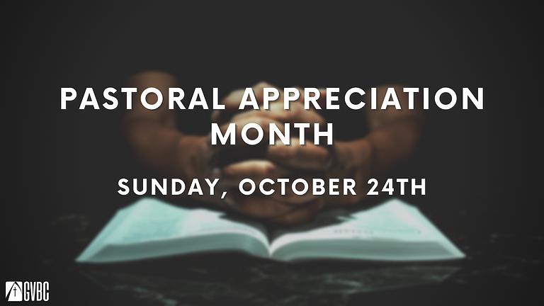 Pastoral Appreciation Month
