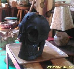 Talla Cráneo Raíz Teca