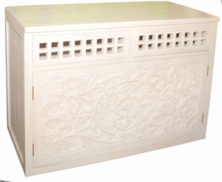 Mueble Lavabo Balinés Blanco