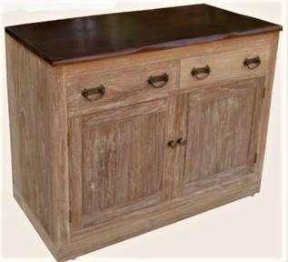 Mueble Baño Rústico Provenzal