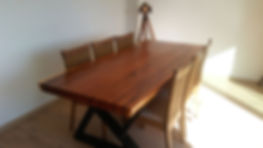 Mesa Comedor Rústica Maciza