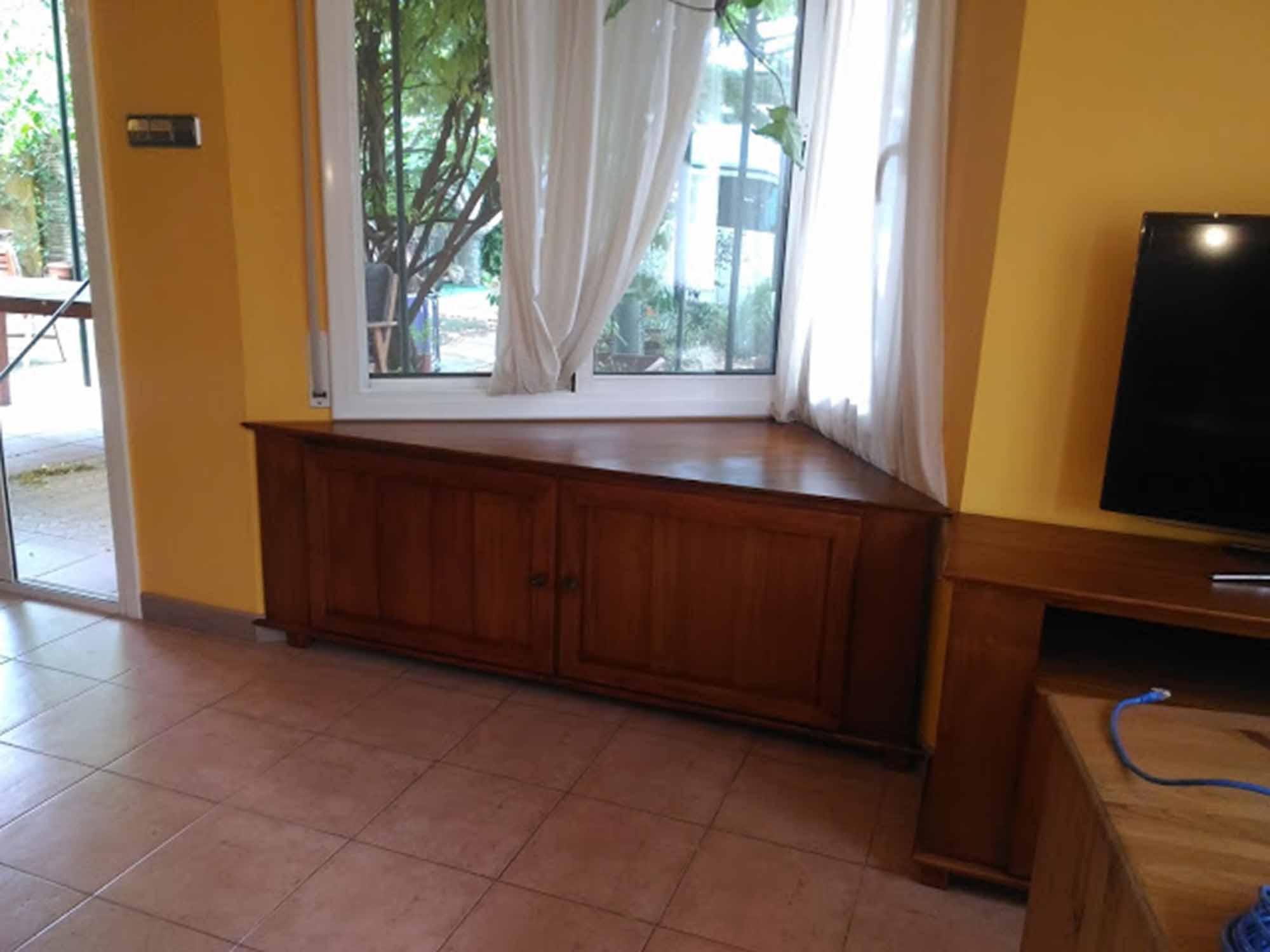 Mueble TV Colonial Rinconero