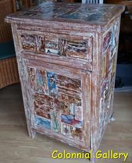 Mueble colonial reciclado pintado auxiliar 1cj.jpg